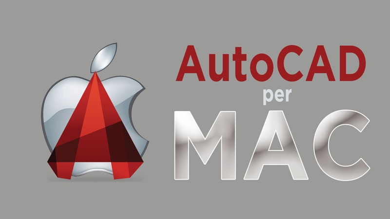 Corso on line di AutoCAD per MAC OS X