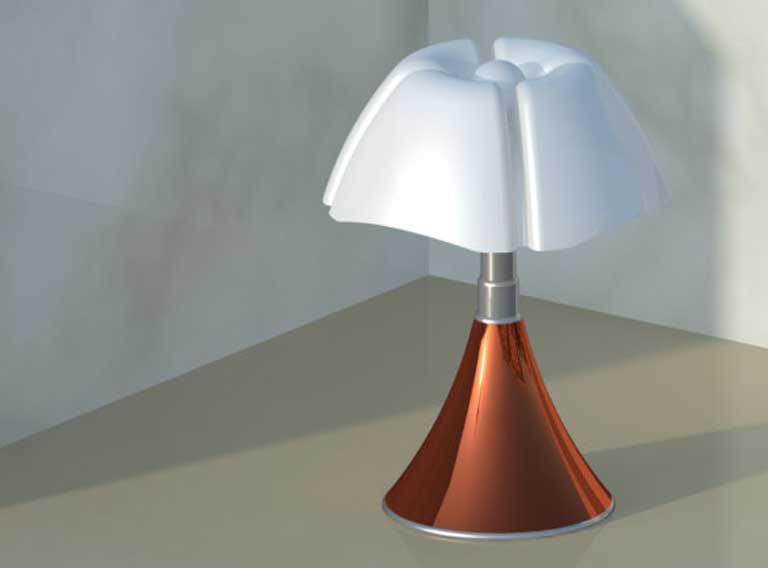 Lampada pipistrello 3d